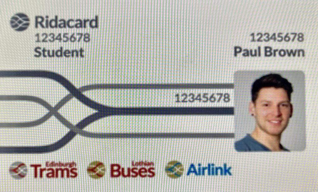 Lothian Buses Ridacard
