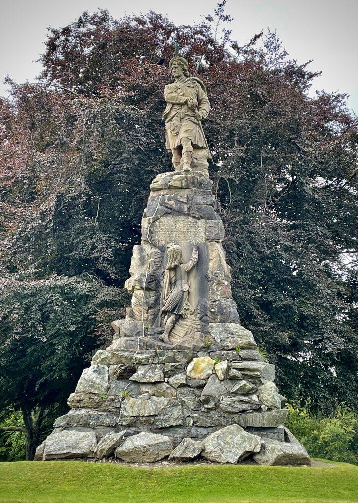 The Black Watch Memorial, Aberfeldy