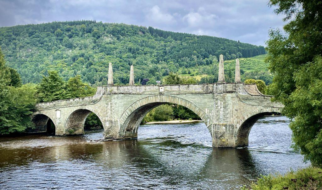 Bridge over the river Tay at Aberfeldy